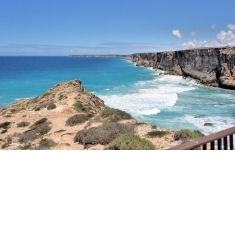 Head of the Great Australian Bight - nearly 400 kilomtres west of Ceduna